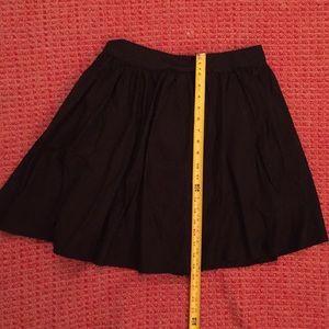 Black Xhilaration skirt. Full skirt. 100 % cotton.